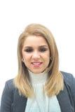 Σύγχρονη επιχειρησιακή γυναίκα Στοκ εικόνες με δικαίωμα ελεύθερης χρήσης