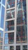 Σύγχρονη λεπτομέρεια οικοδόμησης στην πλατεία της Καστίλλης Στοκ φωτογραφία με δικαίωμα ελεύθερης χρήσης