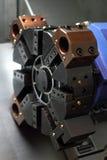 Σύγχρονη εργαλειομηχανή αξόνων. Στοκ φωτογραφία με δικαίωμα ελεύθερης χρήσης