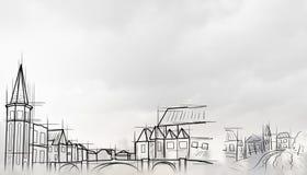 Σύγχρονη εφαρμοσμένη μηχανική κατασκευής Στοκ Φωτογραφία