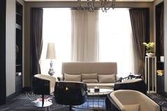 Σύγχρονη θέση ιδιαίτερης συνάντησης πολυτέλειας του δωματίου συνεδρίασης Στοκ Εικόνες
