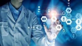 Σύγχρονη ιατρική έννοια τεχνολογιών Στοκ Φωτογραφία