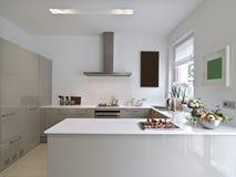 Σύγχρονη κουζίνα Στοκ Εικόνες