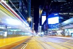 Σύγχρονη κυκλοφορία υψηλής ταχύτητας πόλεων του Χογκ Κογκ στοκ φωτογραφία με δικαίωμα ελεύθερης χρήσης