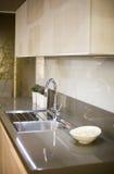 Σύγχρονη λεπτομέρεια κουζινών Στοκ εικόνα με δικαίωμα ελεύθερης χρήσης