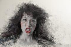 Σύγχρονη μάγισσα Στοκ εικόνες με δικαίωμα ελεύθερης χρήσης