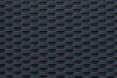 Σύγχρονη μαύρη σύσταση ύφανσης Στοκ Φωτογραφία