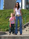 σύγχρονη μητέρα Στοκ Φωτογραφίες