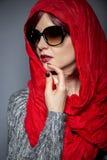 Σύγχρονη μόδα Hijab Στοκ φωτογραφίες με δικαίωμα ελεύθερης χρήσης