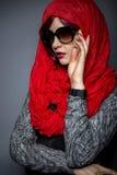 Σύγχρονη μόδα Hijab Στοκ Φωτογραφίες