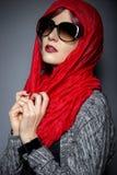 Σύγχρονη μόδα Hijab Στοκ φωτογραφία με δικαίωμα ελεύθερης χρήσης