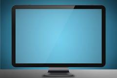 Σύγχρονη οθόνη υπολογιστή Στοκ Φωτογραφίες