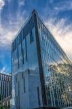 Σύγχρονη οικοδόμηση κτηρίου στο κέντρο πόλεων του Στρασβούργου Στοκ φωτογραφία με δικαίωμα ελεύθερης χρήσης