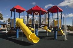 σύγχρονη παιδική χαρά πάρκων Στοκ εικόνα με δικαίωμα ελεύθερης χρήσης