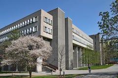 σύγχρονη πανεπιστημιακή αρχιτεκτονική, πανεπιστήμιο του Βατερλώ, Καναδάς στοκ φωτογραφία με δικαίωμα ελεύθερης χρήσης