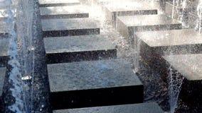 Σύγχρονη πηγή σε ένα πάρκο Στοκ φωτογραφία με δικαίωμα ελεύθερης χρήσης