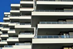Σύγχρονη, πολυκατοικία πολυτέλειας Στοκ Εικόνες
