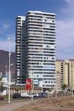 Σύγχρονη πολυκατοικία σε Iquique, Χιλή Στοκ εικόνα με δικαίωμα ελεύθερης χρήσης