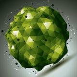 Σύγχρονη πράσινη μοντέρνη κατασκευή τεχνολογίας Στοκ Φωτογραφία