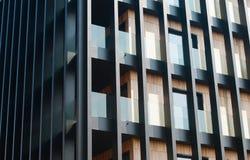 Σύγχρονη πρόσοψη αρχιτεκτονικής Στοκ Εικόνα