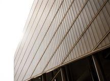 Σύγχρονη πρόσοψη αρχιτεκτονικής Στοκ φωτογραφία με δικαίωμα ελεύθερης χρήσης