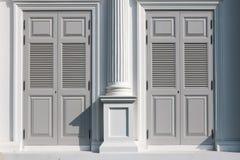 Σύγχρονη πόρτα Στοκ Εικόνες