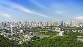 Σύγχρονη πόλη της Μπανγκόκ στοκ φωτογραφίες