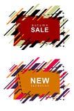 Σύγχρονη πώληση φθινοπώρου πλαισίων Στοκ φωτογραφία με δικαίωμα ελεύθερης χρήσης