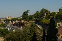 Σύγχρονη Ρώμη Στοκ εικόνα με δικαίωμα ελεύθερης χρήσης