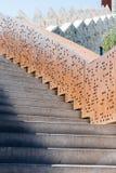 Σύγχρονη σκάλα αρχιτεκτονικής υπαίθρια Στοκ Φωτογραφίες