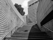 Σύγχρονη σκάλα πετρών Στοκ εικόνα με δικαίωμα ελεύθερης χρήσης