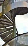 σύγχρονη σκάλα μετάλλων Στοκ Εικόνες