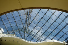 σύγχρονη στέγη αρχιτεκτο&n Στοκ Εικόνα