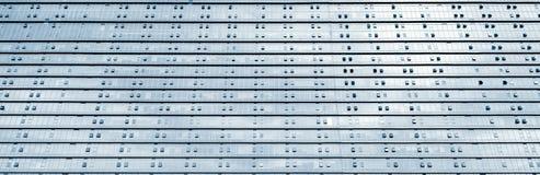 σύγχρονη στέγη γυαλιού τεμαχίων αρχιτεκτονικής Στοκ Εικόνες