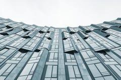 σύγχρονη στέγη γυαλιού τεμαχίων αρχιτεκτονικής Στοκ Φωτογραφία