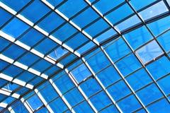 Σύγχρονη στέγη γυαλιού Στοκ φωτογραφίες με δικαίωμα ελεύθερης χρήσης