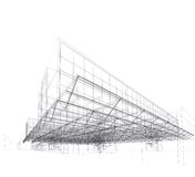σύγχρονη στέγη σπιτιών αρχι&ta διανυσματική απεικόνιση