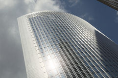 Σύγχρονη σύγχρονη σύνθεση αρχιτεκτονικής Στοκ εικόνα με δικαίωμα ελεύθερης χρήσης