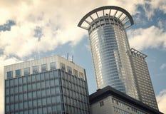 Σύγχρονη σύνθεση αρχιτεκτονικής Στοκ εικόνα με δικαίωμα ελεύθερης χρήσης