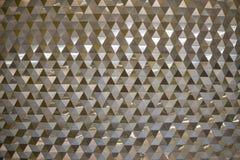 Σύγχρονη τέχνη διακοσμήσεων ταπετσαριών reflextion Gloden Στοκ Εικόνες