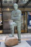 Σύγχρονη τέχνη στην επίδειξη στην κύρια έδρα της Christie ` s σε Rockefeller Plaza στη Νέα Υόρκη Στοκ εικόνες με δικαίωμα ελεύθερης χρήσης