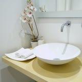 σύγχρονη τουαλέτα Στοκ Εικόνες