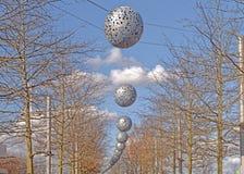 Σύγχρονη υπαίθρια διακόσμηση Στοκ εικόνες με δικαίωμα ελεύθερης χρήσης