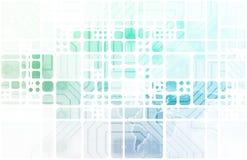 Σύγχρονη ψηφιακή οικονομία διανυσματική απεικόνιση