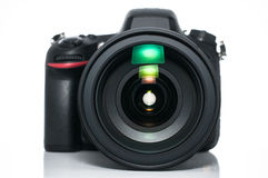 Σύγχρονη ψηφιακή φωτογραφική μηχανή SLR Στοκ Φωτογραφίες