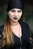 Σύγχρονη όμορφη μάγισσα Στοκ Φωτογραφίες