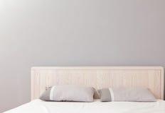 Σύγχρονη διπλή κρεβατοκάμαρα Στοκ Φωτογραφία