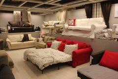 Σύγχρονοι καναπέδες Στοκ εικόνα με δικαίωμα ελεύθερης χρήσης