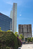 Σύγχρονοι ουρανοξύστες, Βαρκελώνη Στοκ Εικόνες