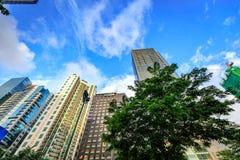 Σύγχρονοι ουρανοξύστες στη σφαιρική πόλη Bonifacio την 1η Σεπτεμβρίου 2017 στο TA Στοκ φωτογραφίες με δικαίωμα ελεύθερης χρήσης